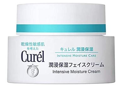 Oilyskinbeauty Curel moisturizing cream