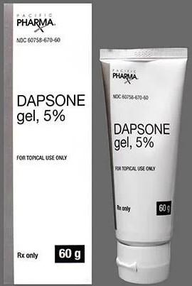 Dapsone gel, 5%