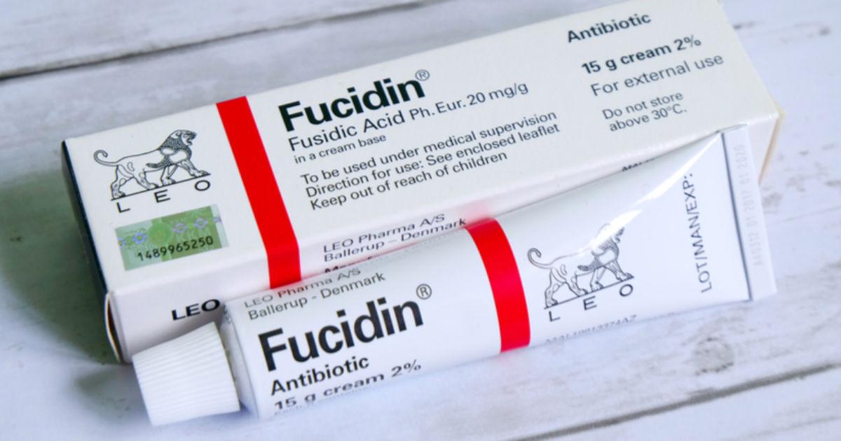 Fucidin Acid cream, Antibiotic, 2%