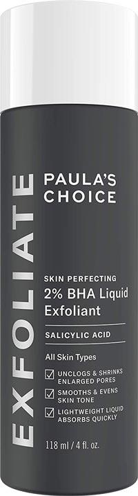 paula's choice 2% BHA liquid Exfoliant (salicylic acid))