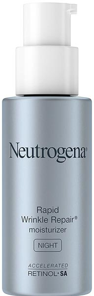 Neutrogena Rapid Wrinkle Repair moisturizer (Night)
