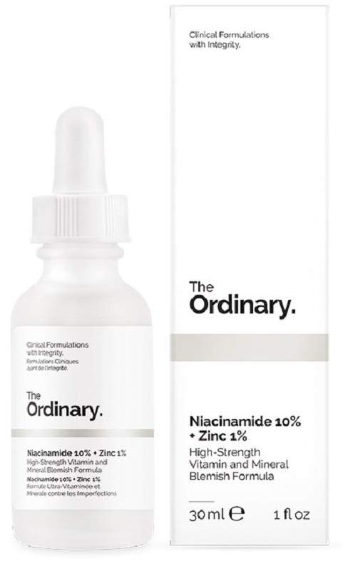 The Ordinary 10% Niacinamide 1% Zinc