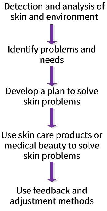 Skin care regimen selection process
