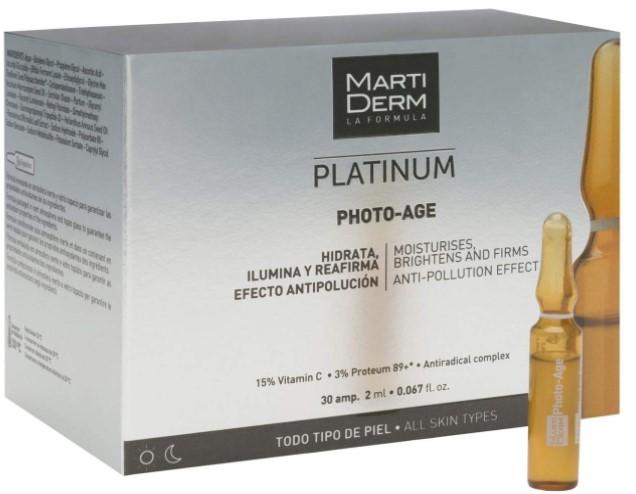 Oilyskinbeauty Martiderm Photo Age Platinum 30 Ampoules