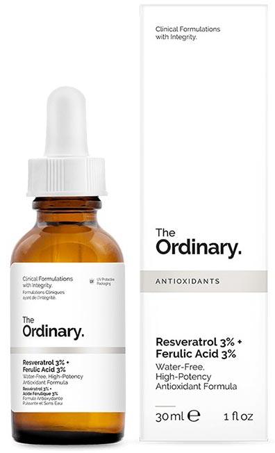 Oilyskinbeauty The Ordinary 3Resveratrol 3Ferulic Acid