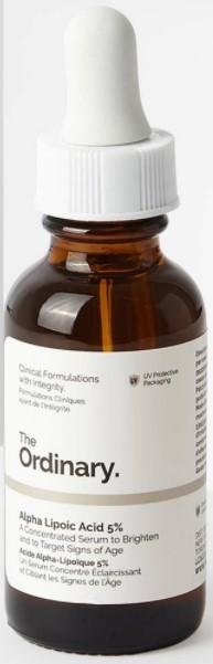Oilyskinbeauty The Ordinary Alpha Lipoic Acid 5
