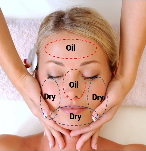 Oilyskinbeauty Combination skin Area
