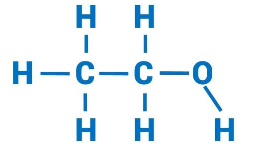 Oilyskinbeauty Chemical formula of ethanol