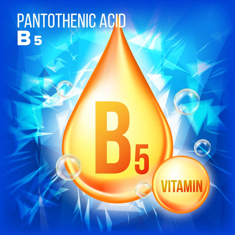 Vitamin B5, also known as pantothenic acid