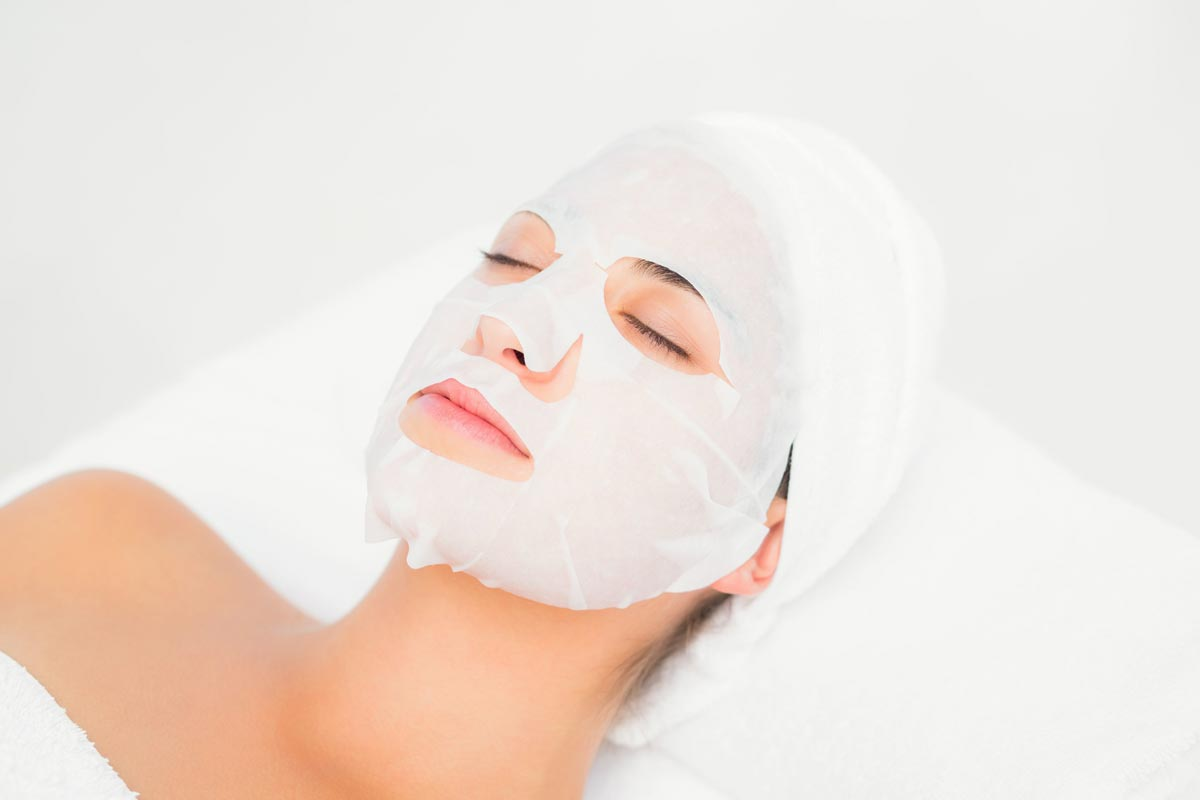 Oilyskinbeauty Apple facial mask