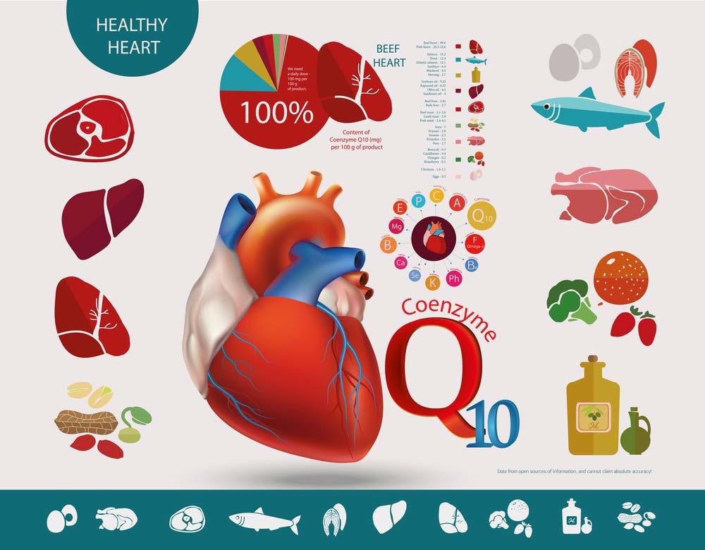 Oilyskinbeauty Coenzyme Q10 healthy heart