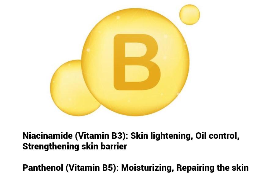 Oilyskinbeauty Vitamin B benefit